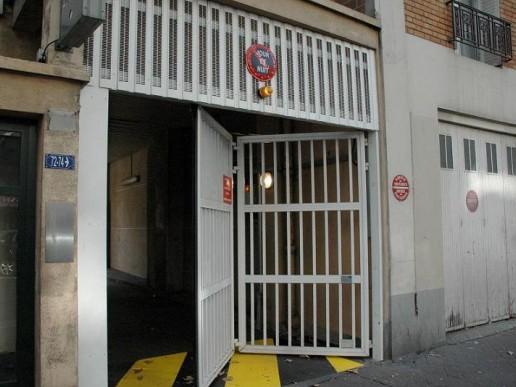 Porte de parking accord on allsas votre sp cialiste de la fermeture automatique - Ouverture de porte automatique ...