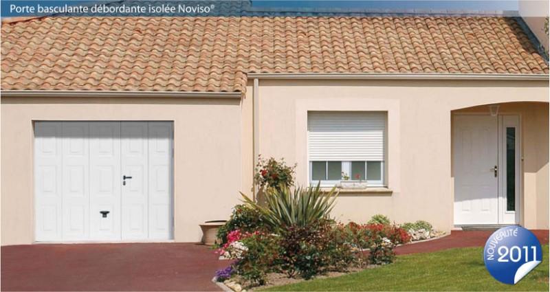 Porte de garage basculante isol e 20 mm allsas votre sp cialiste de la porte et du portail - Porte garage isolee ...