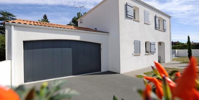Porte de garage lat rale isol allsas votre sp cialiste de la fermeture automatique - Porte de garage battant isole ...